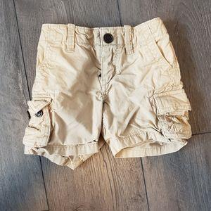 12-18M GAP Khaki Cargo Shorts